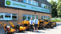 Ben Burgess GroundsCare Equipment become main Predator stump grinder distributor for England and Wales