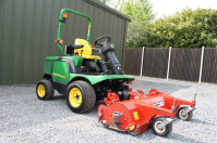 John Deere 1435 with Flail