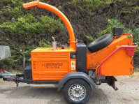 TIMBERWOLF TW150DHB WOODCHIPPER SHREDDER, YEAR 2010, 906 HRS (PIL3612) £9000+VAT